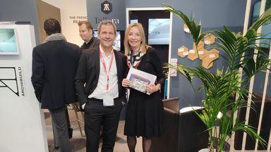 Covivio-Chef Michael Frey und Barbara Lipka wollen Baukollegen und  -kolleginnen die Chance zur  Weiterentwicklung geben.