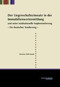 Der Liegenschaftszinssatz in der Immobilienwertermittlung und seine institutionelle Implementierung
