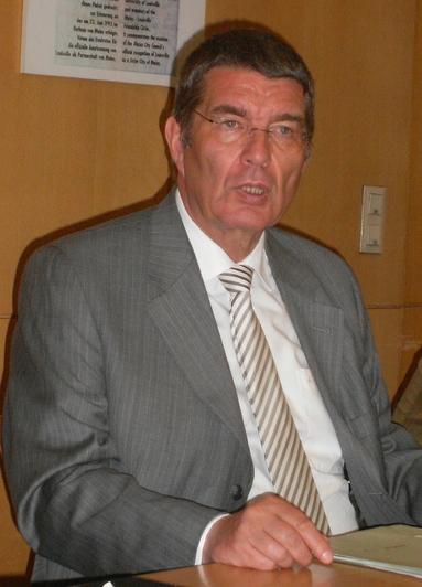 Jens Beutel, Oberbürgermeister von Mainz.