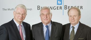 Roland Koch (li.) wurde zum Nachfolger von Bilfinger-Berger-Chef Herbert Bodner (re.) berufen.