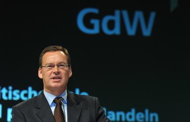 Axel Gedaschko ist ab heute GdW-Präsident.