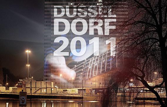 Dreischeibenhaus wird Riesen-TV beim European Song Contest