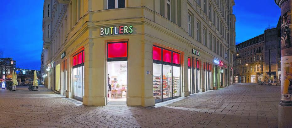 Butlers Expandiert Nach Tschechien