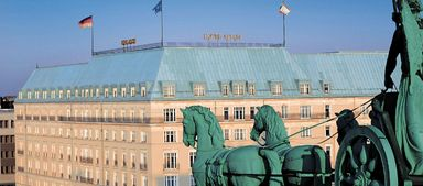 Das Hotel Adlon in Berlin.