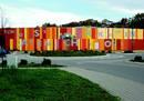 Schlossarkaden zeigen Kunst am Bau