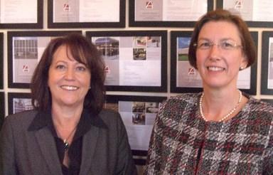 Die neue Geschäftsführung: Michaela Fricke (li.) und Annette Zimmermann.