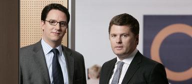 Marcus Wolsdorf (links) und Robert Haselsteiner.