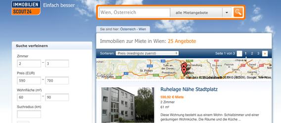 Bild: Screenshot immobilienscout24.at