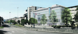 So soll bis Ende des Jahres der Neubau von Breuninger dastehen. Das Großprojekt Da Vinci hingegen liegt in einer Endlos-Planungsschleife. Bild: Blocher Blocher Partners