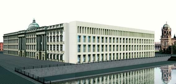 Bild: Stiftung Berliner Schloss - Humboldtforum, Arch. Franco Stella