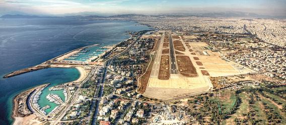 Der frühere Athener Flughafen Hellinikon ist die größte Liegenschaft, die Griechenland verkaufen will. Bild: Hellenic Republic Asset Development Fund
