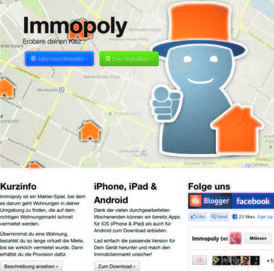 Bild: Screenshot: immopoly.org