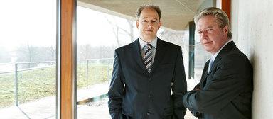 Michael Barth und Sigurd Reiner Betz (v.l.n.r.).