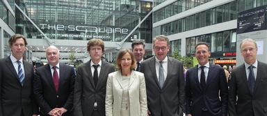 Gitta Rometsch, Geschäftsführerin Heuer Dialog, hat künftig Unterstützung bei der Fortentwicklung des Branchenkongresses Quo vadis. Vorsitzender des Beirats ist Karsten Trompetter (3. v. r.).