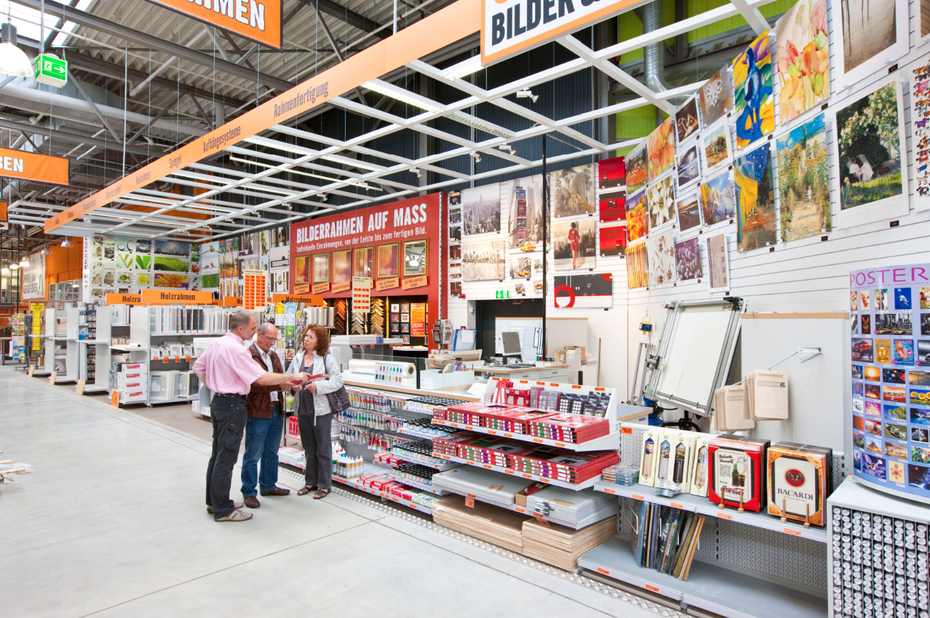 hornbach klotzt in l neburg und kleckert in bad bergzabern. Black Bedroom Furniture Sets. Home Design Ideas