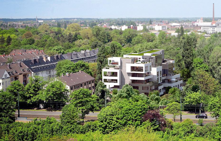 Cadman Düsseldorf düsseldorf luxuswohnen im bunker