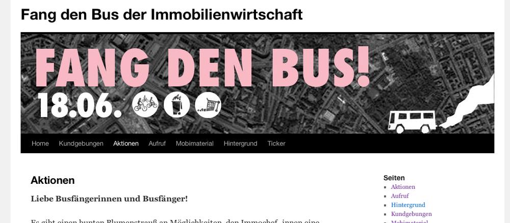Bild: Screenshot fangdenbus.noblogs.org