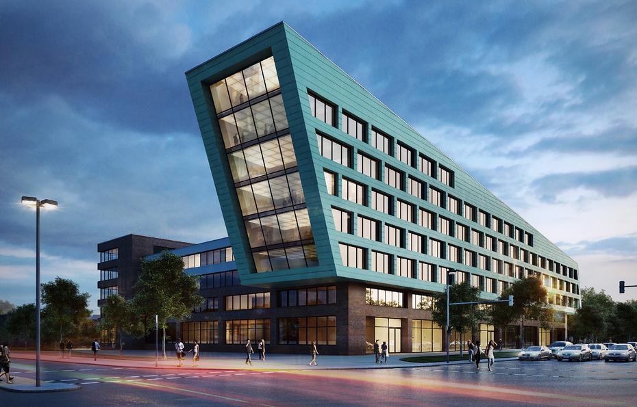 Architekten In Hannover drei entwürfe für city gate nord in hannover