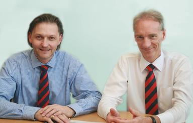 Die beiden neuen Geschäftsführer von Zapf: Roman Fehling und Emmanuel Thomas (v.l.n.r.).