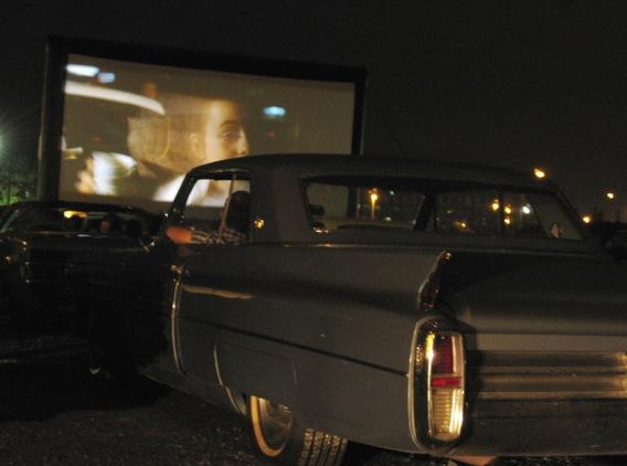 Autokino in Gateway Gardens mit Quentin Tarantino