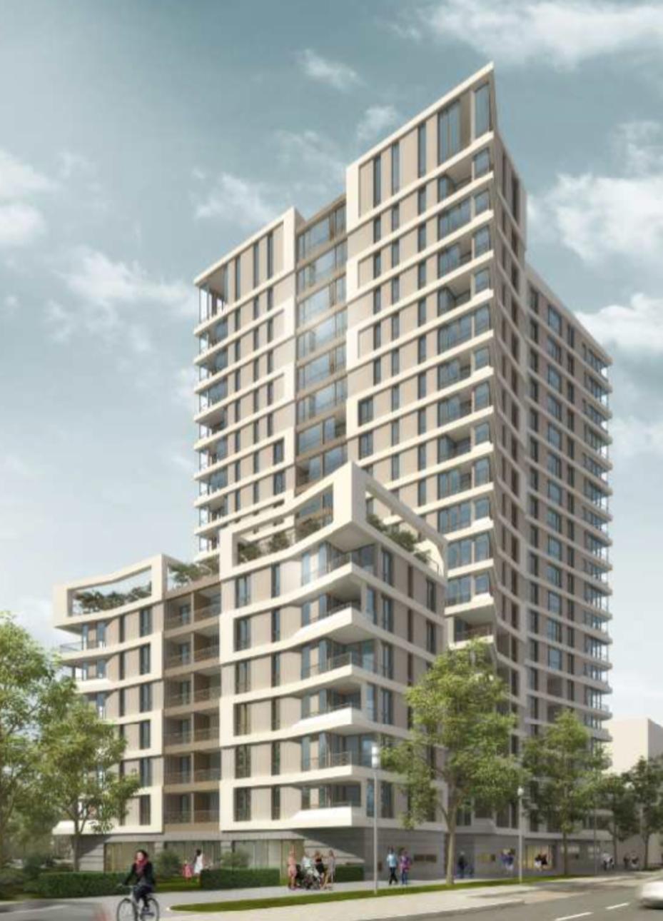 msm architekten planen westside towers in frankfurt