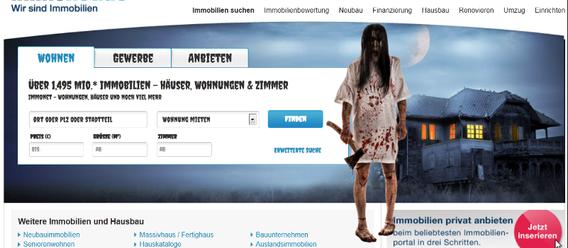 Bild: Screenshot immonet.de