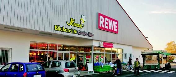 Dieser Rewe-Markt im nordrheinwestfälischen Hiddenhausen gehört auch zum Deikon-Portfolio. Bild: Deikon
