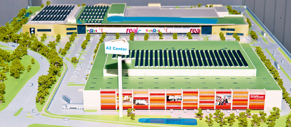 130 mio euro f r relaunch des a2 centers in altwarmb chen for Flohmarkt a2 center