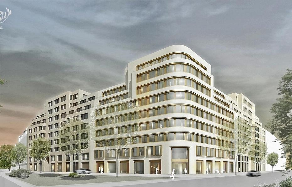 Berlin Ssn Baut Gewerbe Und Wohnquartier F R 90 Mio Euro