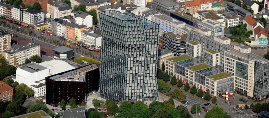 Tanzende Türme in Hamburg-St. Pauli offiziell eingeweiht