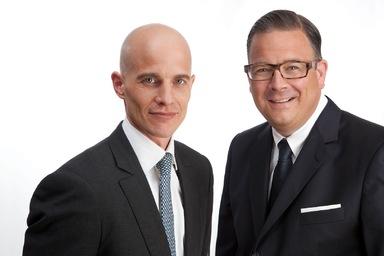 Peter Koss (links) und Hagen Hackenberg.