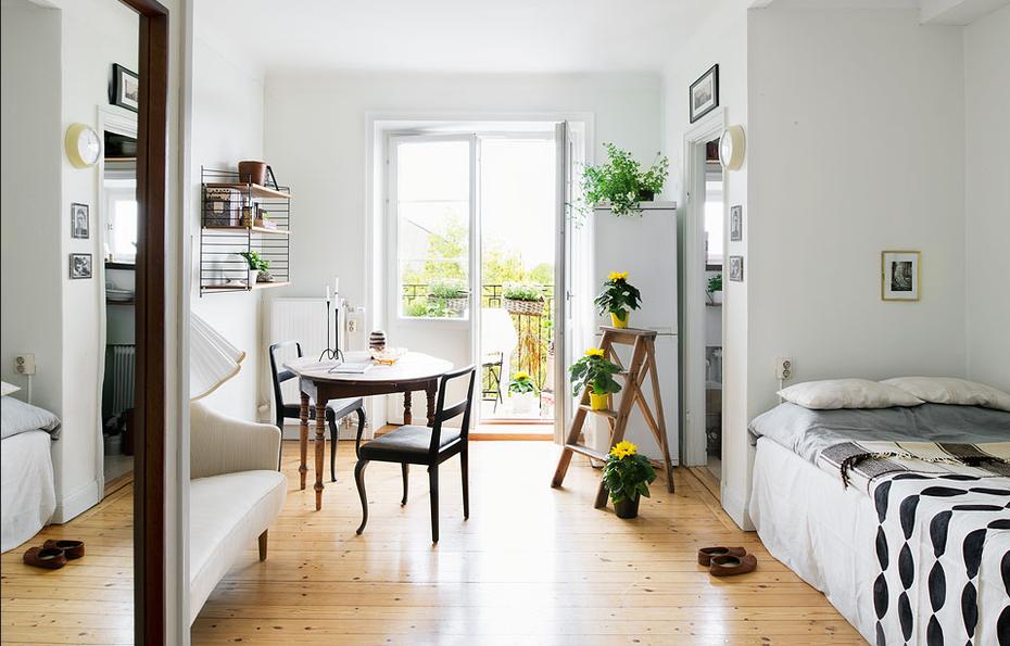 Home Staging ist ihnen nicht genug: Die Wohnung als Model
