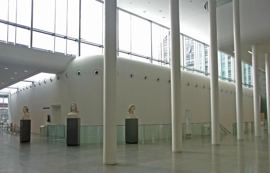 High Quality Büsten Berühmter Ehemaliger Der Leipziger Universität Schmücken Die  Eingangshalle. Bild: Mv