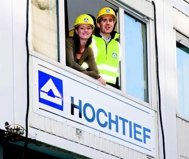 Während der Traineeships ist auch ein Praxiseinsatz auf der Baustelle vorgesehen.