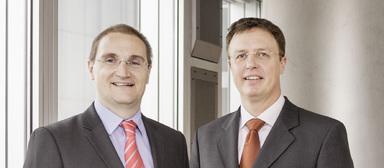 Jörg Schwagenscheidt (rechts) und Andreas Segal führen gemeinsam die GSW.