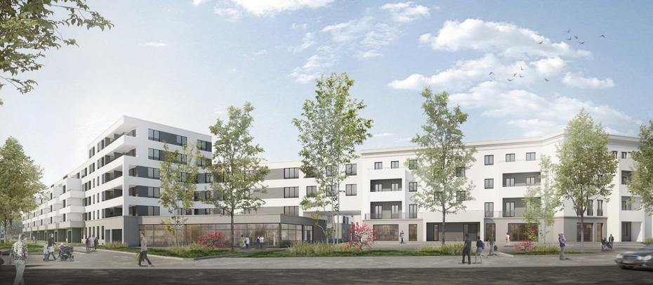 howoge legt grundstein f r wohnquartier in berlin karlshorst. Black Bedroom Furniture Sets. Home Design Ideas