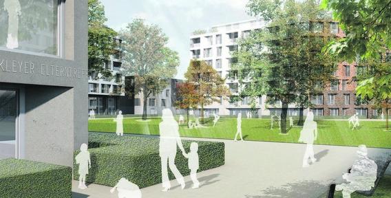 Projekt kleyerquartier frankfurt am main for Architekturburo englisch
