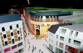 Rund 290 Mio. Euro kosten Center und Geschäftshaus. Bild: IZ