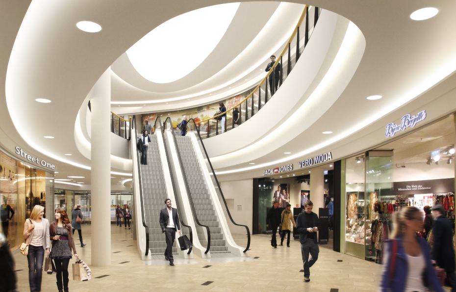 offenbacher einkaufszentrum komm 2015 wird umgebaut. Black Bedroom Furniture Sets. Home Design Ideas