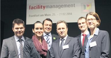 Die diesjährigen Gefma-Förderpreisträger (v.l.n.r.): Asbjörn Gärtner, Daniela Schneider, Philipp Salzmann, Uwe Dünkel, Philipp Schiemann und Christine Lippert.