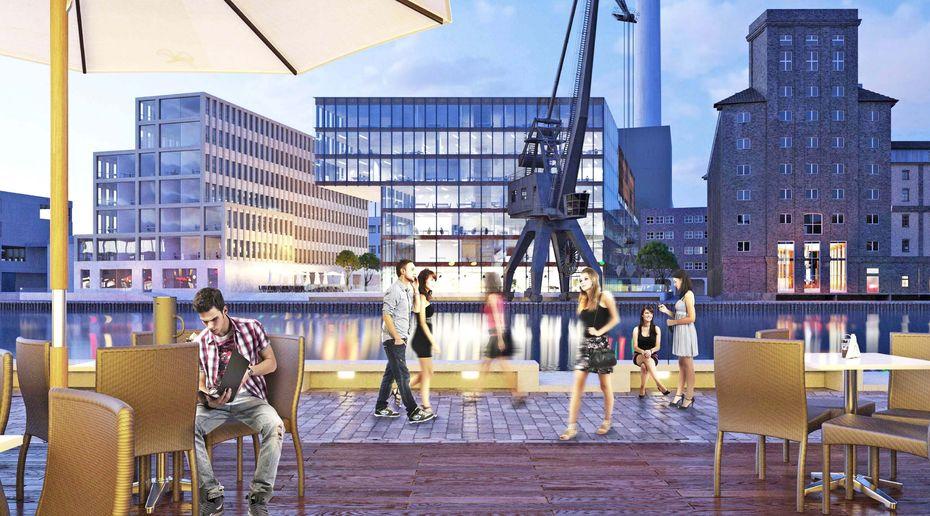 Maas Und Partner münster ist hafen city