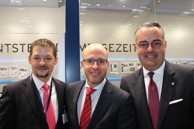 Die drei Gründer von Stoneset Partners (v.l.n.r.): Nico B. Rottke, Philip Meier und Paul Jörg Feldhoff.