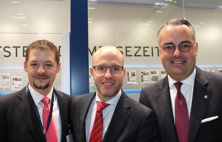 Die Stoneset-Partners-Gründer (v.l.n.r.): Nico B. Rottke, Philip Meier und Paul Jörg Feldhoff.