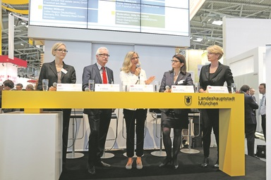 Das Reizthema Frauen und Führung diskutierten fünf Führungspersönlichkeiten.