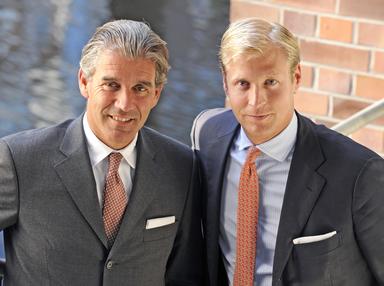 Die neue E&V-Doppelspitze: Christian Völkers (links) und Sven Odia.