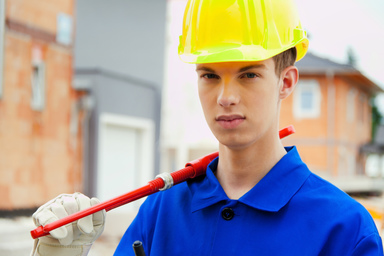 Mehr junge Menschen haben sich in diesem Jahr für eine Ausbildung in einem Bauberuf entschieden.