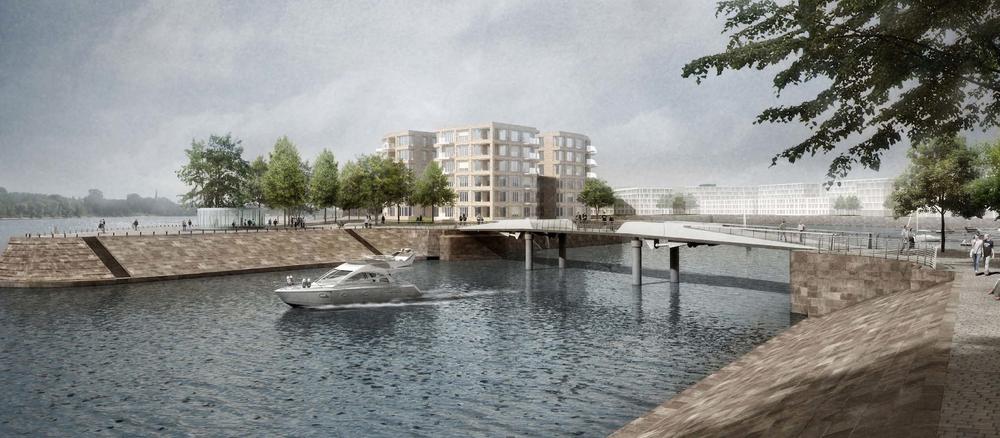 Bild: Zollhafen Mainz.