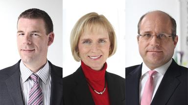 Der Aufsichtsrat der Deutschen Reihenhaus (v.l.n.r.): Thorsten Näbig, Kirstine Hoegenhaven Seitzberg und Norbert Geilen.
