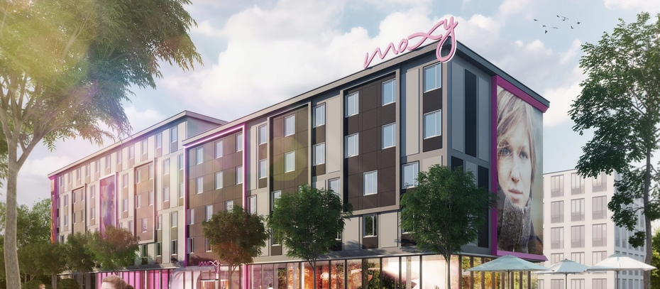 Gbi entwickelt moxy hotels ohne inter ikea for Designhotel ostdeutschland