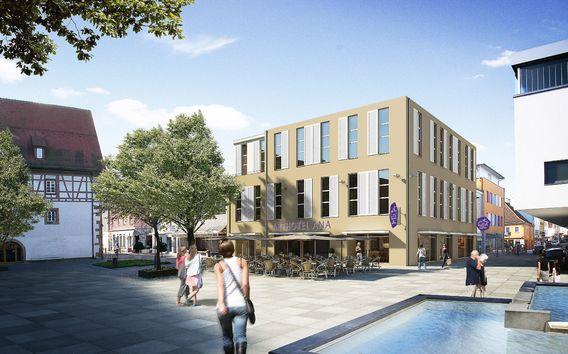 Iz projekte kornhausplatz g ppingen for Designhotel ostdeutschland